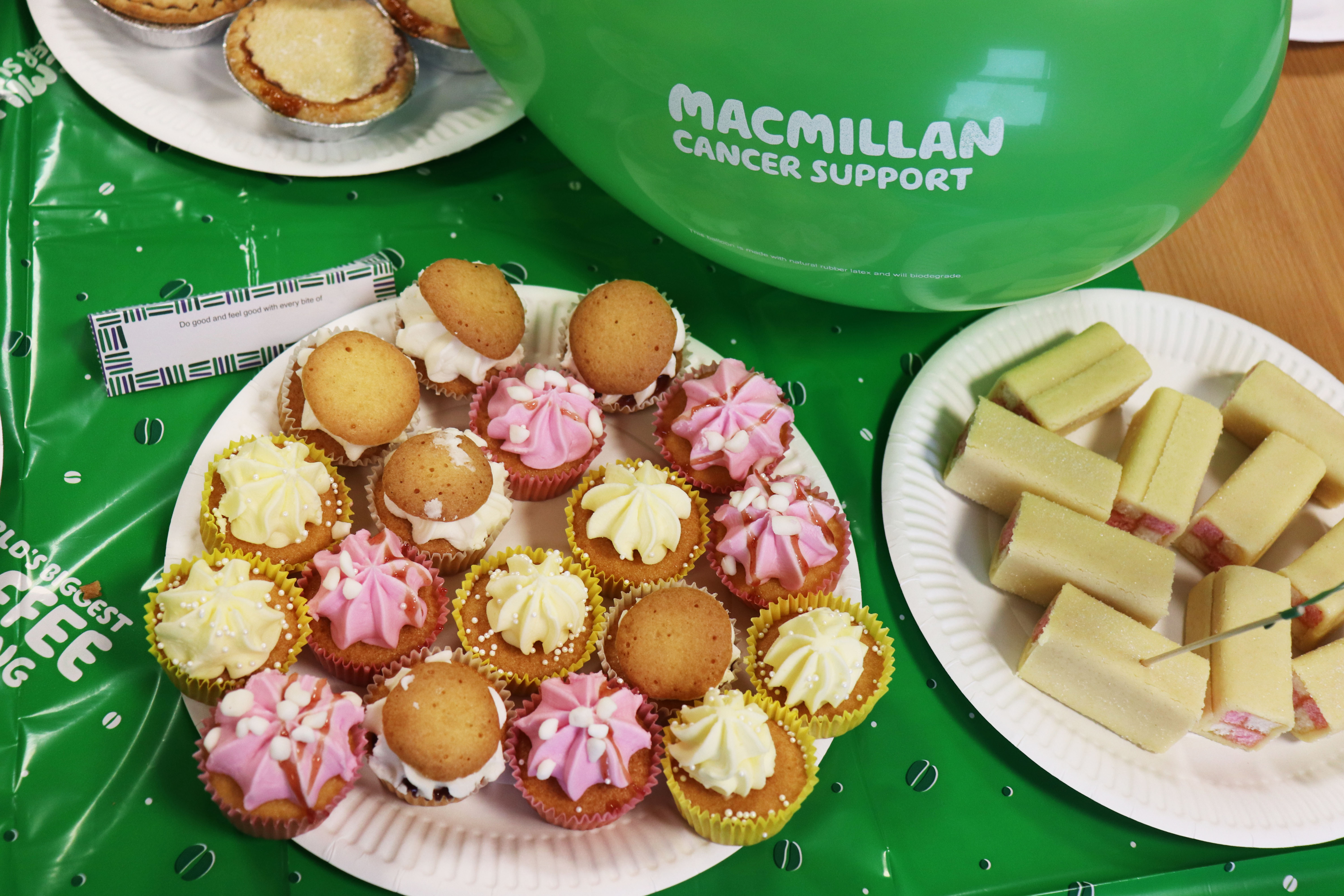 Card Saver get their aprons on for Macmillan's World's Biggest Coffee Morning-3