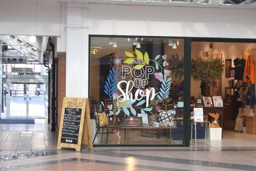 Pop-up shops can take card payments too