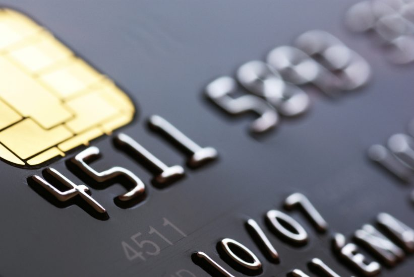 credit card spending last month